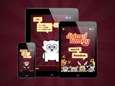 The Animal Family™ UI