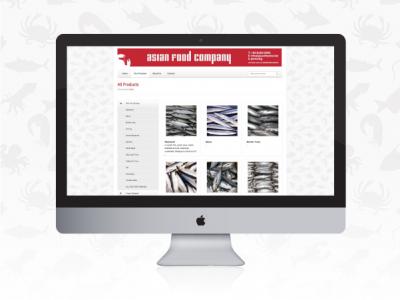 Asian Food Company web