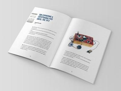 Secret of Ciphers conference brochure