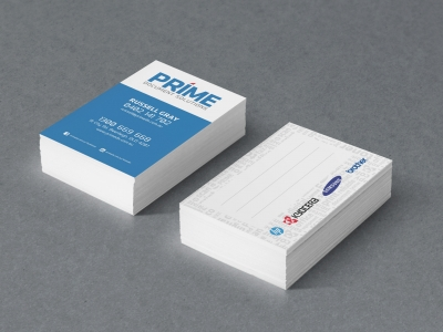 PRIME Document Solutions business cards
