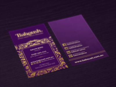 Baboush Business Cards