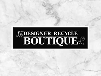 Designer Recycle Boutique Logo